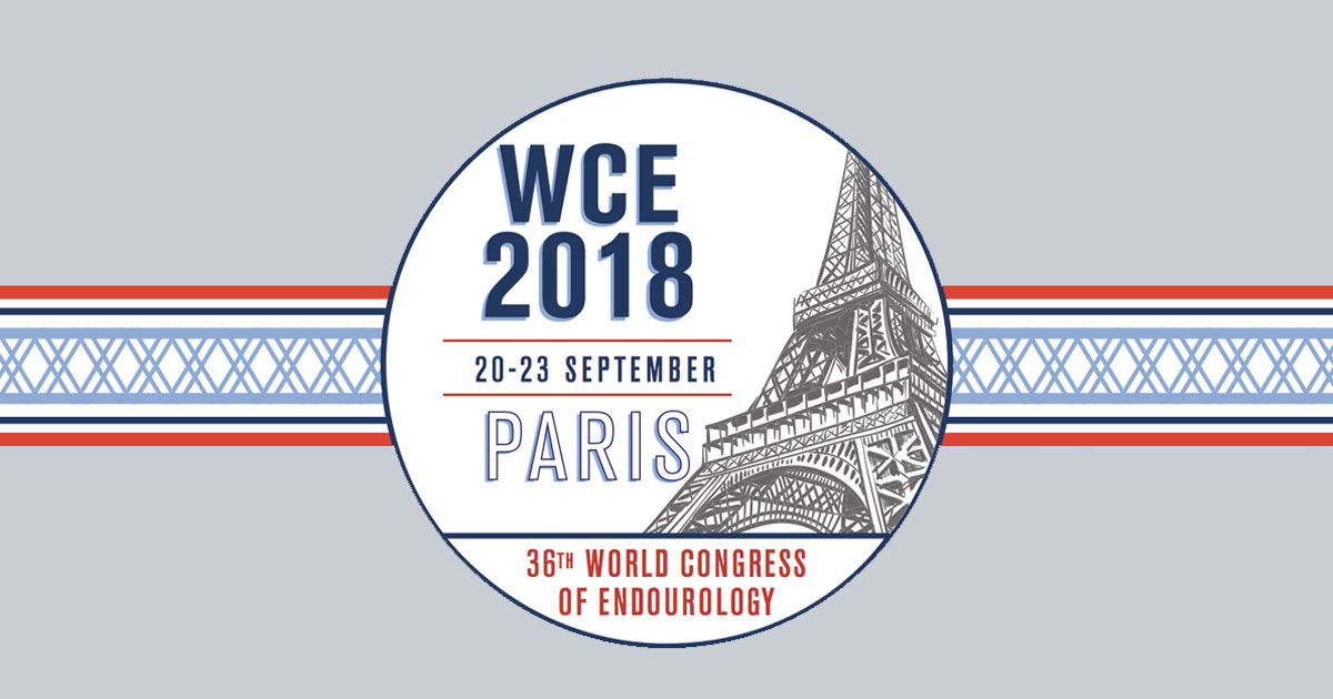 World Congress of Endourology Paris 2018